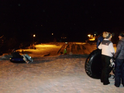 snow tubing at windham mtn adventure park 12jan13